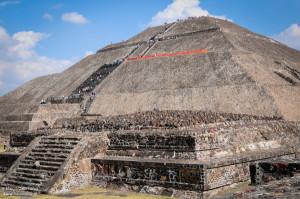 Habli Babli Świątynia w Teotihuacan Meksyk